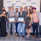 Image for Milad Alishahi and Jared Biden Presented the 2017 Young Entrepreneur of the Year Award