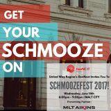 Image for Presenting Partner for Schmoozefest YQR 2017