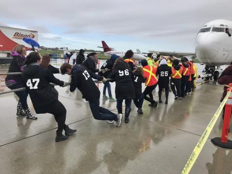 United Way Winnipeg | Plane Pull | 2019