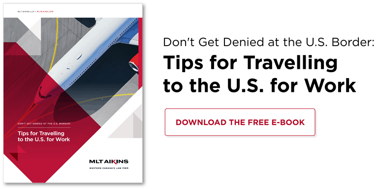 Download the Free E-book: Tips for Travelling to the U.S. for Work
