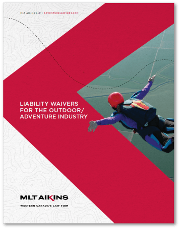 Liability Waivers for the Outdoor Adventure Industry E-book