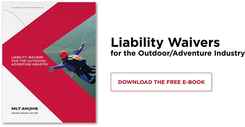 Liability Waivers for the Outdoor Adventure Industry | Download free e-book