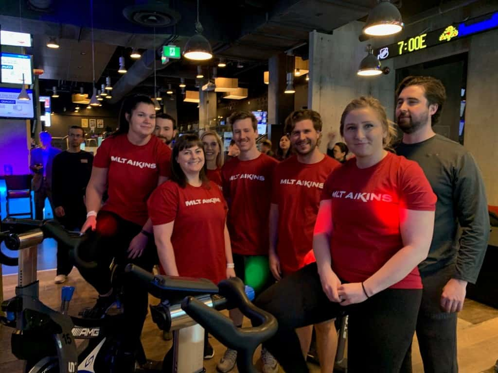 MLT Aikins Team | Sun Life Ride to Defeat Diabetes for JDRF