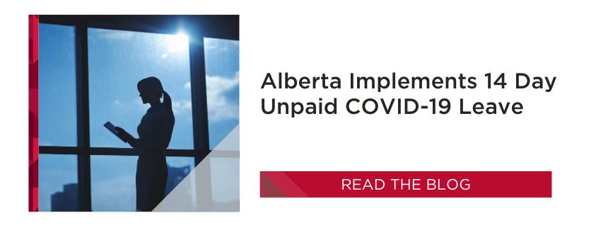 Alberta Unpaid COVID-19 Sick Leave