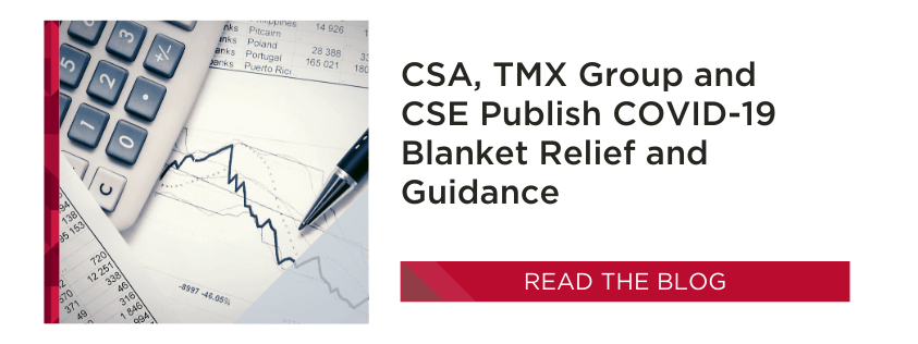 CSA Blanket Relief - COVID-19
