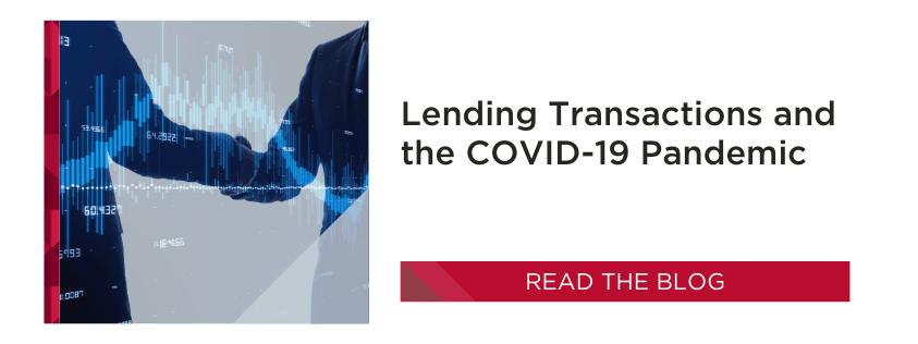 Lending Transactions   COVID-19
