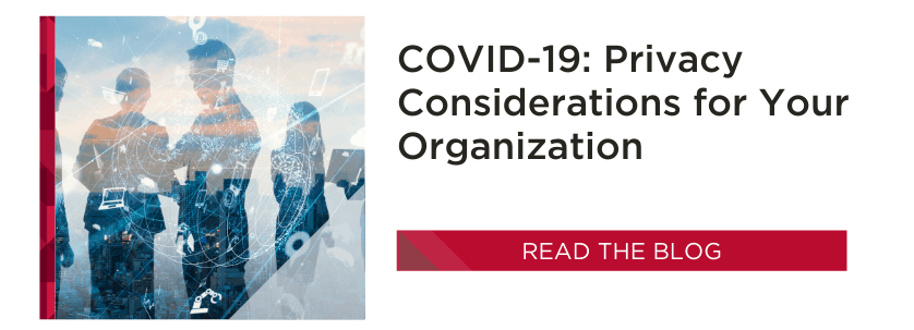 Privacy Considerations | COVID-19