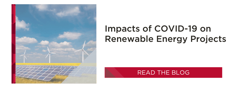 Renewable Energy Projects   COVID-19