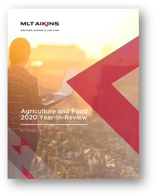 MLT Aikins Agriculture and Food 2020 Year-in-Review ebook