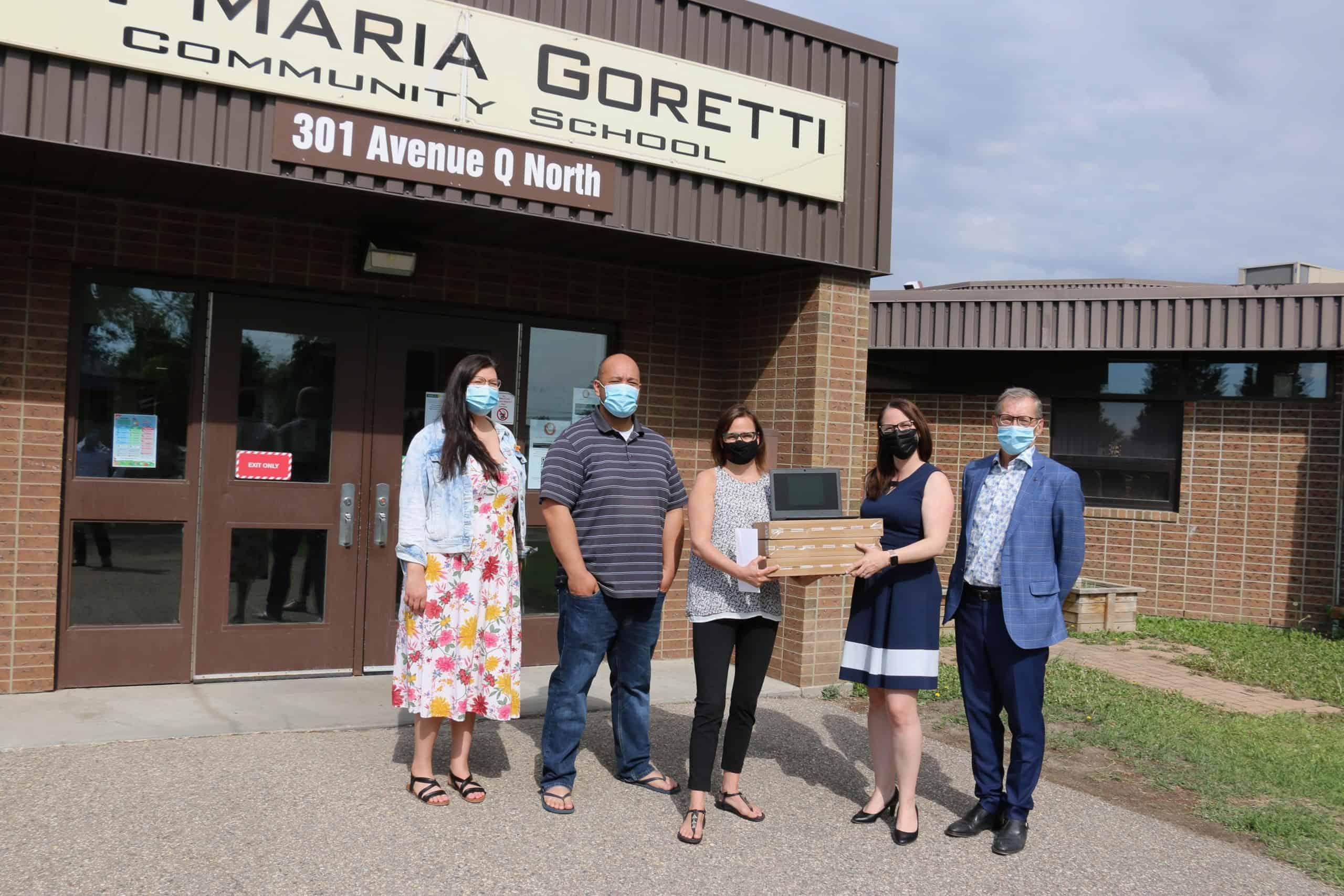 MLT Aikins Donation to Greater Saskatoon Catholic Schools