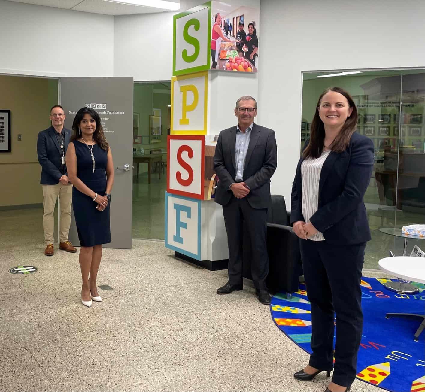 MLT Aikins Donation to Saskatoon Public Schools Foundation